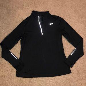 Black Nike dry fit crew neck